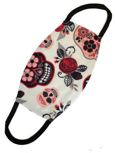 Mexican Skulls, Mund-Nasen-Maske