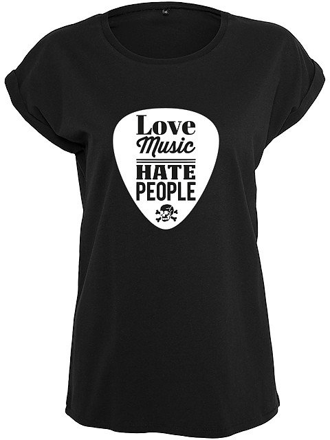 Flaming Star Love Music - Hate People, black