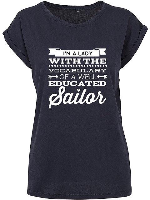 Flaming Star Lady Sailor, navy