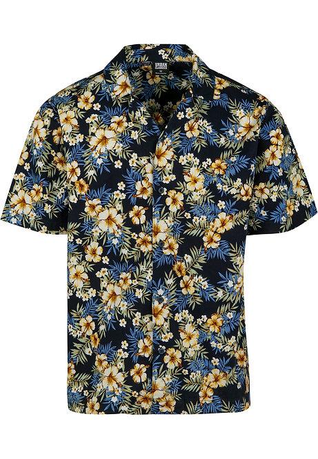 UC Summer Shirt, hibiscus