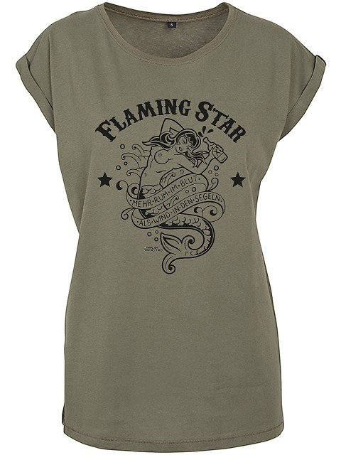 Flaming Star Rum im Blut, olive