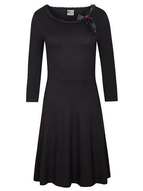Pussy Deluxe Classic Dress, schwarz