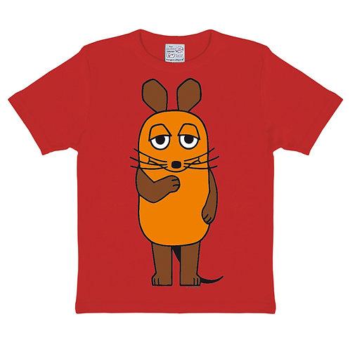 Logoshirt Die Maus, red
