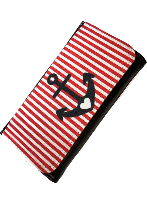 Anchor Stripy red/white, Wallet