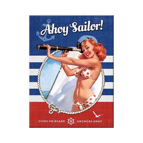 Ahoy Sailor, Magnet