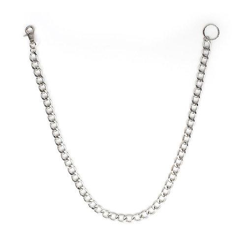 Wallet Chain, silver 80cm