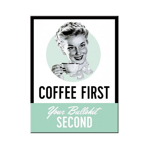 Coffee First, Magnet
