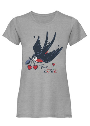 True Love, heather grey