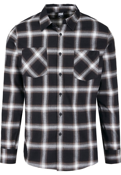 UC New Flanell, black/white
