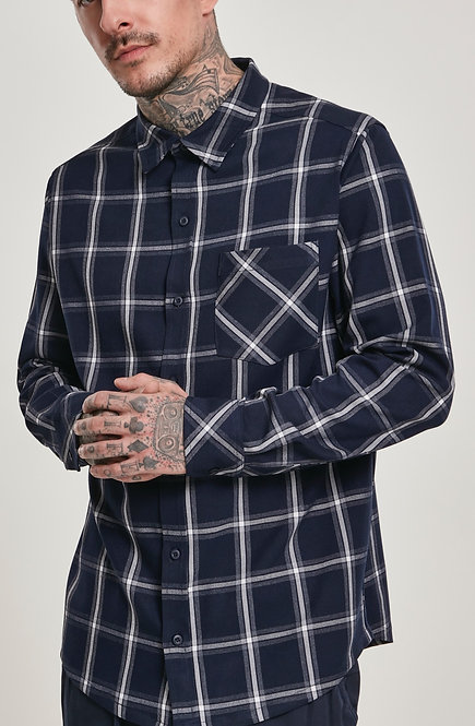 UC New Flanell, navy/white