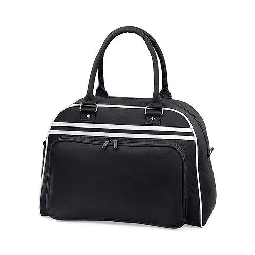 RETRO Sports bag, black