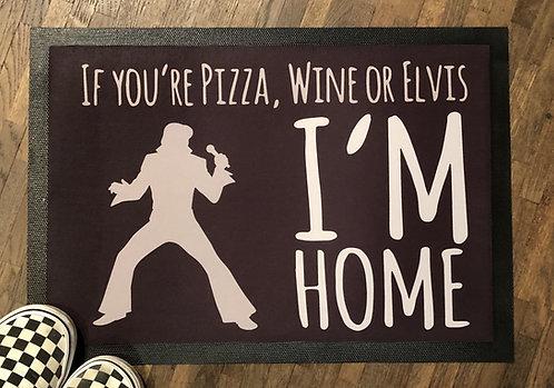 If you´re Pizza..., Fussmatte