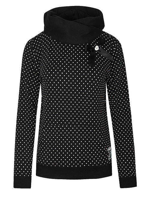 Pussy Deluxe Dots Shawl Hoodie