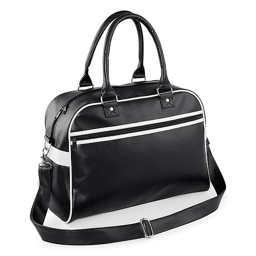 RETRO Bowling bag, black