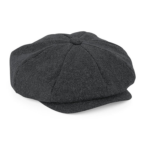 Herritage Wool Cap, charcoal