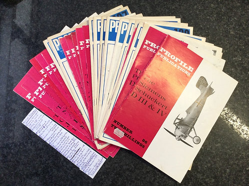 Assortment of 28 Profile Publications