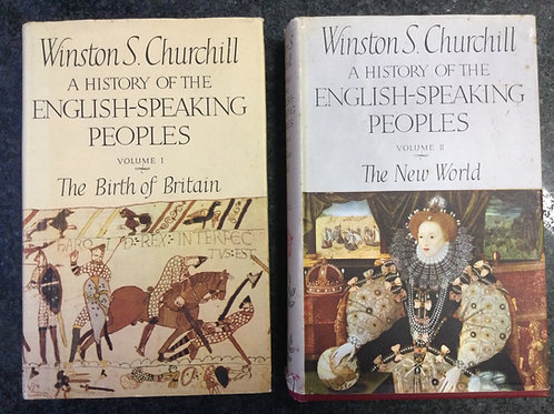 A History of the English Speaking People vol 1 The Birth of Britain by Churchill