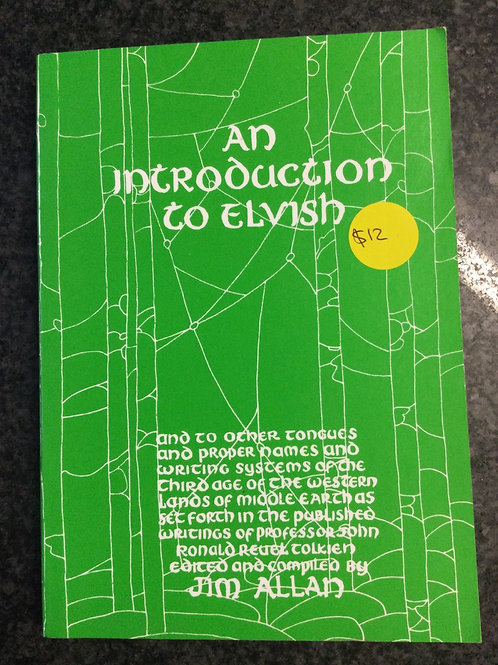 An Introduction to Elvish by Jim Allen