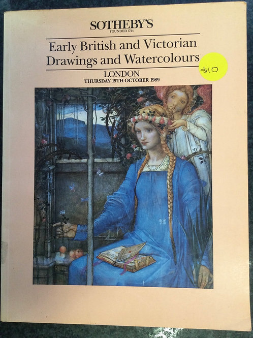 Sotheby's Early British and Victorian Drawings and Watercolours