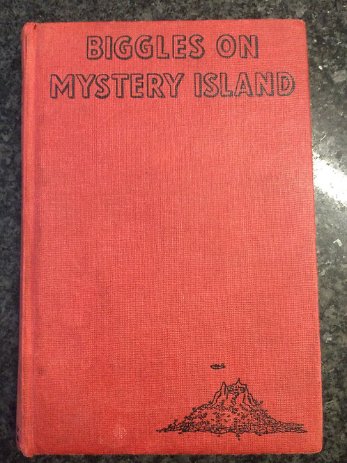 Biggles on Mystery Island by Captain W.E. Johns