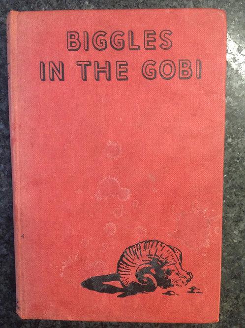 Biggles in the Gobi by Captain W.E. Johns