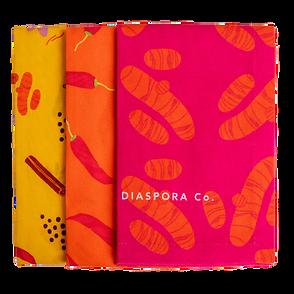 Diaspora Co. Spicy Dish Towel Trio