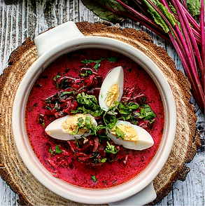 Savory Beet  and  Carrot Stew