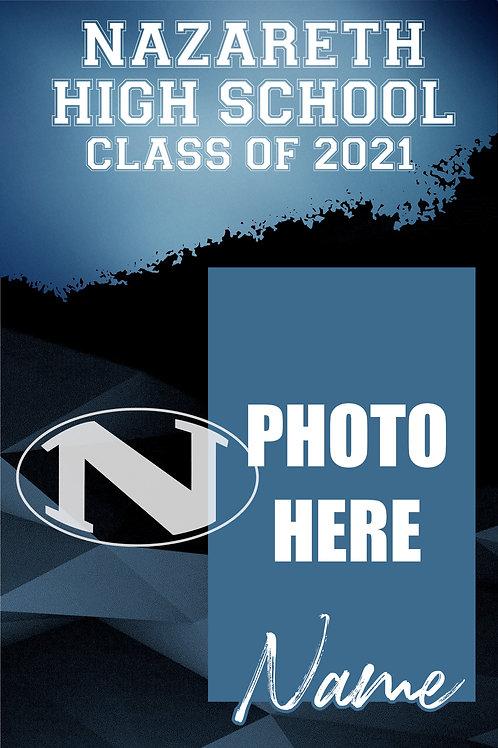 Nazareth 2021 Custom Senior Photo Banner