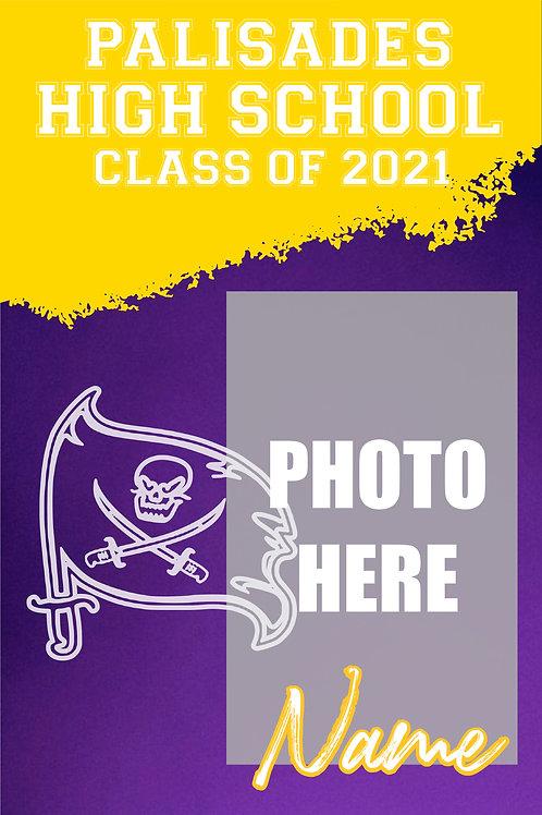 Palisades 2021 Custom Senior Photo Banner