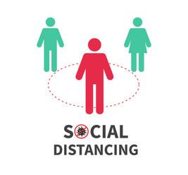 Social Distancing Reminder