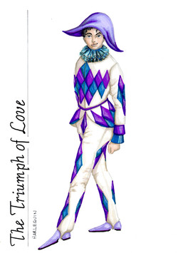 Harlequin from Triumph of Love