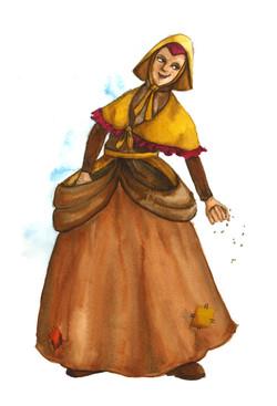 Chicken Lady Sketch