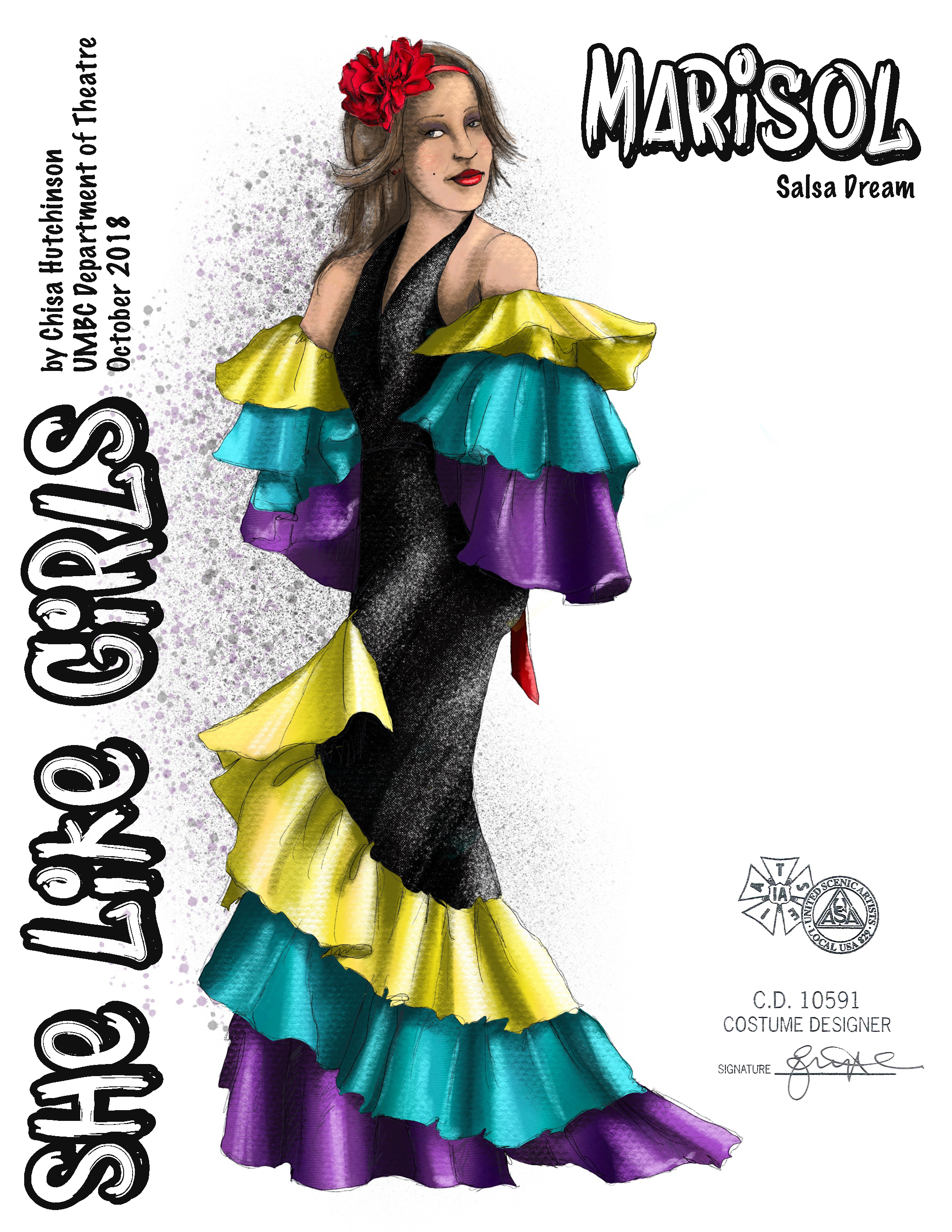 Marisol Salsa Dress