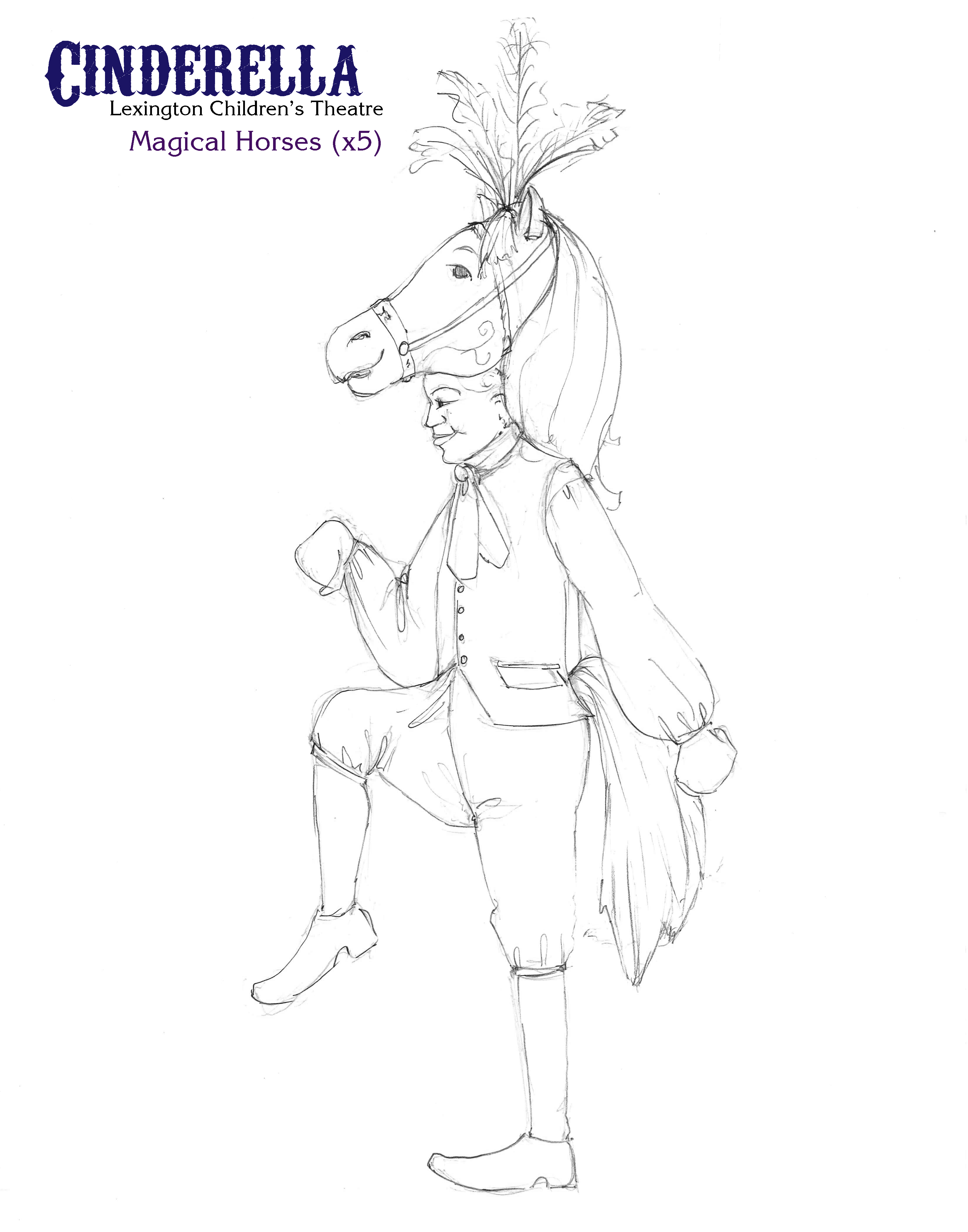 Magical Horse from Cinderella