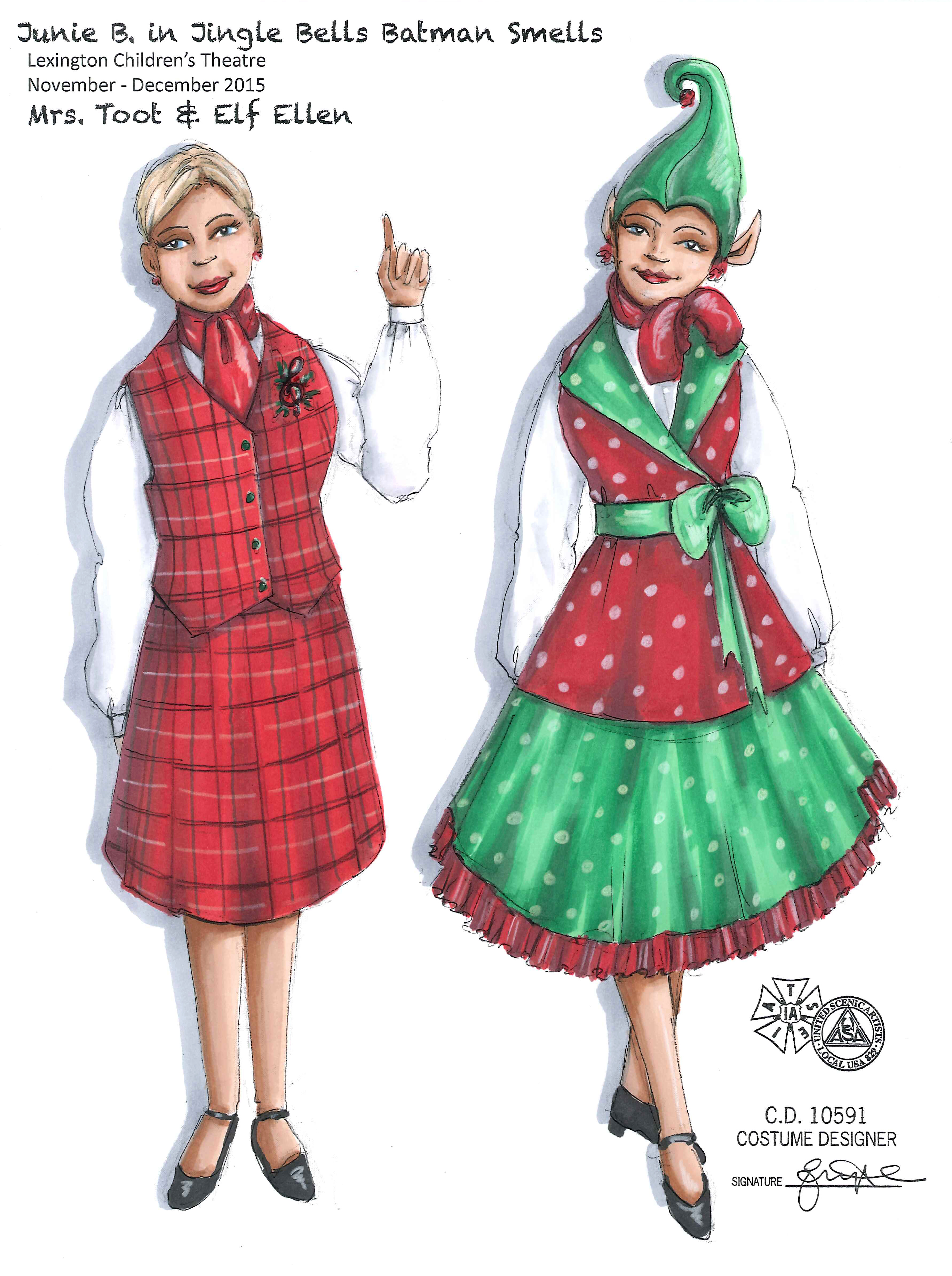 Mrs Toot & Elf Ellen from Junie B.
