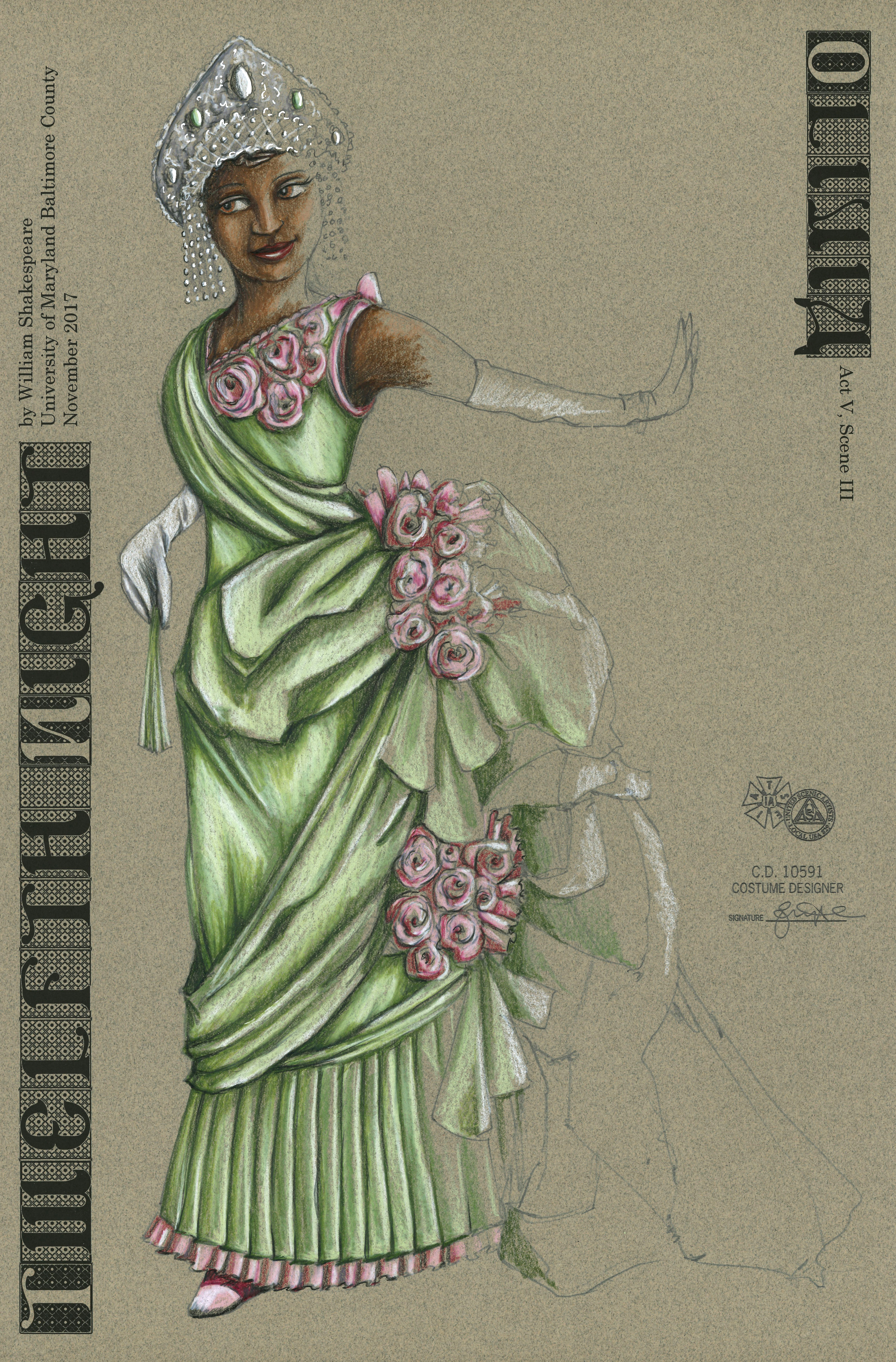 Olivia Final Dress