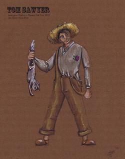 Huck from Tom Sawyer