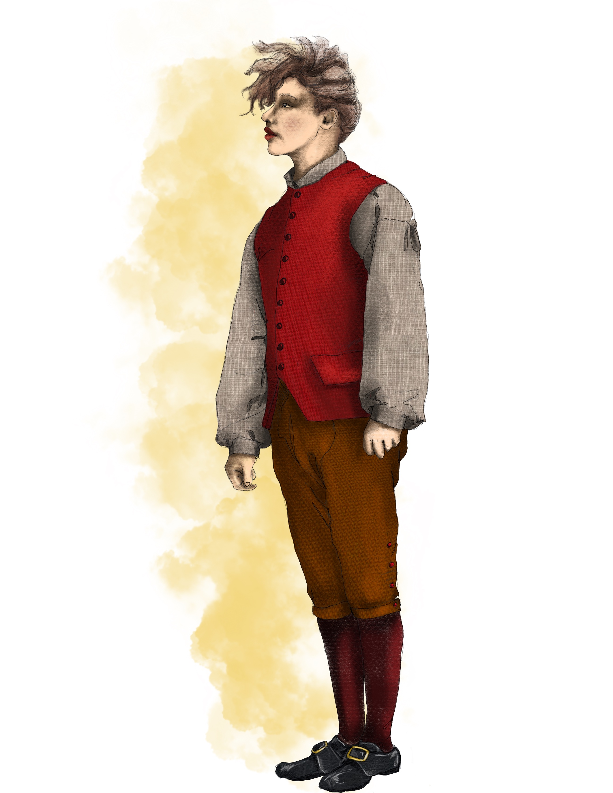 Polly as a Boy