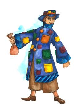 Gypsy Man Sketch