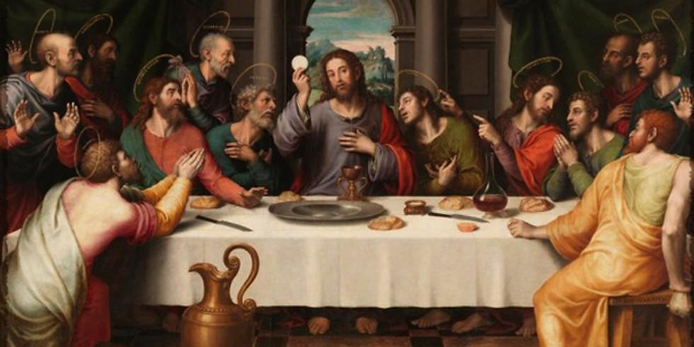Holy Thursday   Jueves Santo