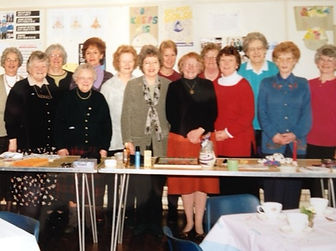 Ladies from the joint Guilds of St Mary'