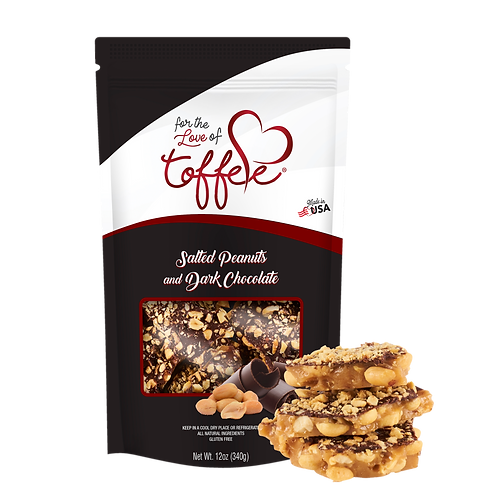12 oz Salted Peanuts & Dark Chocolate