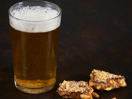 Toffee and beer? What a treat!