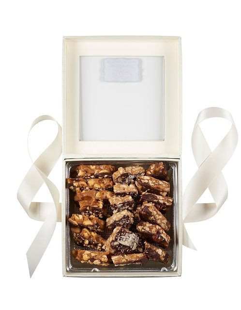 .75 lb (12 oz) Toffee White or Bronze Gift Box Sampler