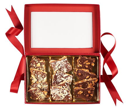 1.5 lb (24 oz) Toffee Gift Box Sampler