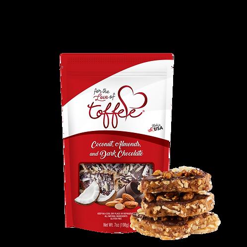 7 oz Coconut, Almonds & Dark Chocolate