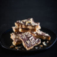 For the Love of Toffee uses the higtest quality all-natural and gluten free ingredients.