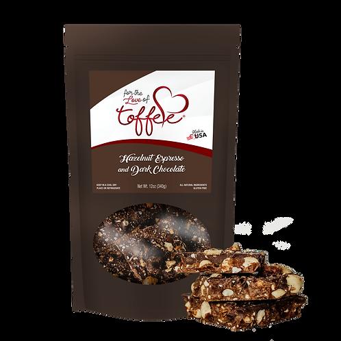 12 oz. Hazelnut Espresso and Dark Chocolate Toffee