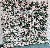 Wild Rose Flower Wall