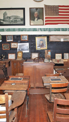 This is what the inside of your school room might have looked like.